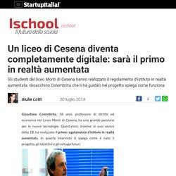 Un liceo completamente digitale: a Cesena il primo in realtà aumentata