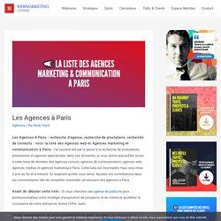▶ La Liste Complète des Agences à Paris [+1000 Contacts]