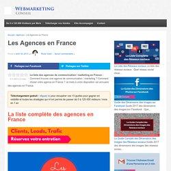 ▶ La Liste Complète des Agences en France [+1000 Contacts]