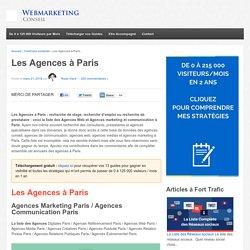 ▶ La Liste Complète des Agences à Paris [Mis à Jour]