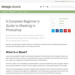 A Complete Beginner's Guide to Masking in Photoshop