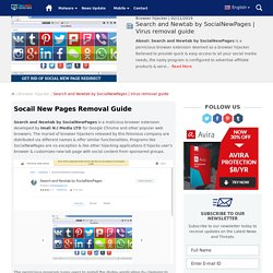 Complete Guide to Remove Social new pages browser Redirect