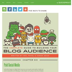 Paid Social Media - The Complete Guide To Building Your Blog Audience