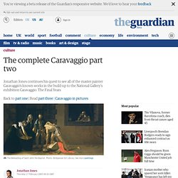 The complete Caravaggio part two