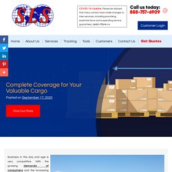 Complete Coverage for Your Valuable Cargo