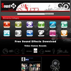 Sound FX Center - The Most Complete Database of Sound Effects - Free Download