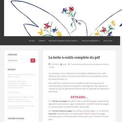 La boîte à outils complète du pdf