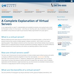 A Complete Explanation of Virtual Servers