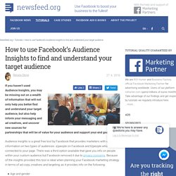 The complete guide on how to use Facebook's Audience Insights to find and understand your target audience