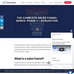 The Complete Sales Funnel Series: Phase 1- Acquisition