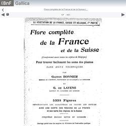 Flore complète de la France et de la Suisse (... - Gallica mobile website
