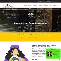 Complete Lead Generation Solution - B2B Lead Generation Company Malaysia