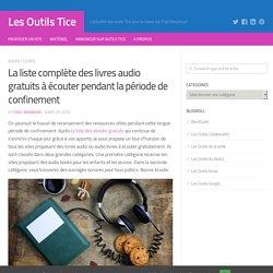 La liste complète des livres audio gratuits