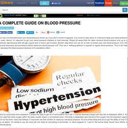 A Complete Guide On Blood Pressure