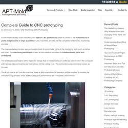 Complete Guide to CNC prototyping