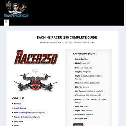 Complete Guide for the Eachine Racer 250