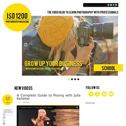 Photography Video blog for photographers: A Complete Guide to Posing with Julia Kelleher