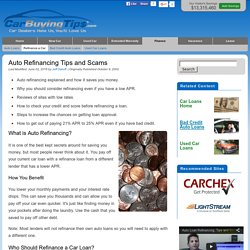 Complete Guide to Auto Refinancing