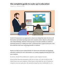 The Complete Guide to SCALE-UP in Education