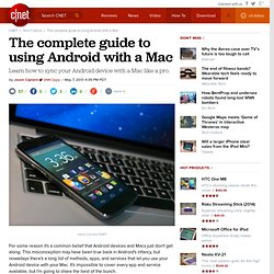 The complete guide to using Android with a Mac - CNET Mobile