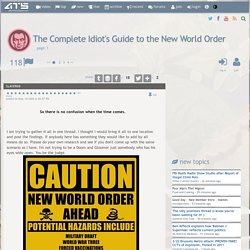 The Complete Idiot's Guide to the New World Order, page 1