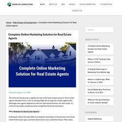 Complete Online Marketing Solution for Real Estate Agents -
