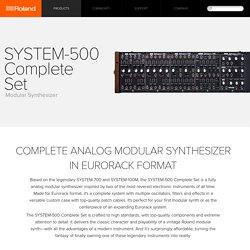 Roland - SYSTEM-500 Complete Set