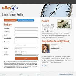 Careers And Colleges .com : Find Scholarships, College Grants, Colleges, and Loans