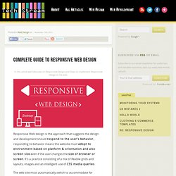 Complete Guide To Responsive Web Design