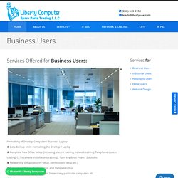 Complete IT solutions for business users in Dubai, Abu Dhabi, UAE