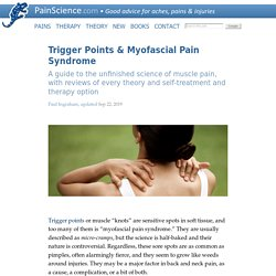 Trigger Points and Myofascial Pain