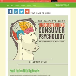Small Tactics With Big Results - The Complete Guide to Understand Customer Psychology