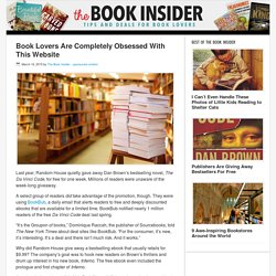 Book Lovers Are Completely Obsessed With This Website - The Book Insider