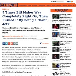 5 Times Bill Maher Was Completely Right On, Then Ruined It By Being a Giant Jerk