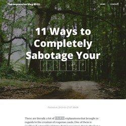 11 Ways to Completely Sabotage Your 의정부치아교정