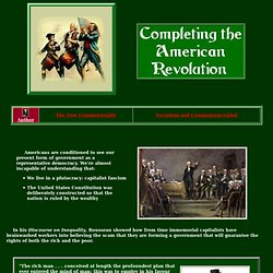 Completing the American Revolution