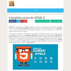 Completo curso de HTML 5 ~ Full aprendizaje