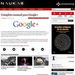 Completo manual para Google+