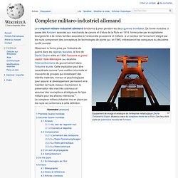 Complexe militaro-industriel allemand