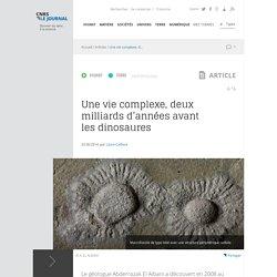 Une vie complexe, deux milliards d'années avant les dinosaures