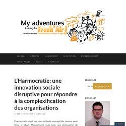 L'Harmocratie: une innovation sociale disruptive pour répondre à la complexification des organisations