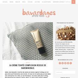 La crème teintée Complexion Rescue de bareMinerals
