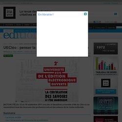 dition - Article - UECléo : penser la complexité du livre numérique