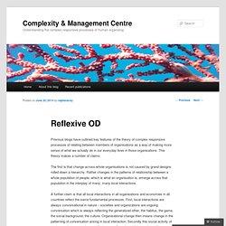 Complexity & Management Centre