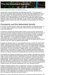 Complexity and the networked society