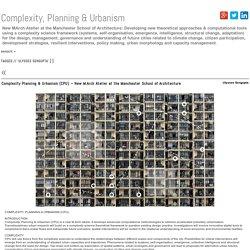Complexity, Planning & Urbanism » ulysses sengupta