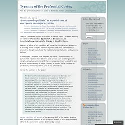 Complexity « Tyranny of the Prefrontal Cortex