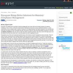 Paysquare Brings Better Solutions for Statutory Compliance Management