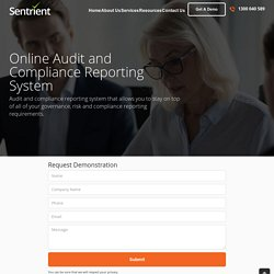 Online Audit and Compliance Reporting System
