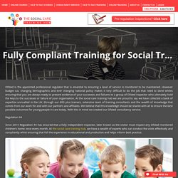 Fully Compliant Training for Social Trainers